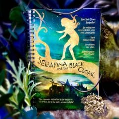 Notebook - Serafina and the Black Cloak