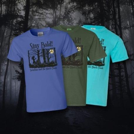 Serafina and the Black Cloak T-Shirt - Stay Bold!