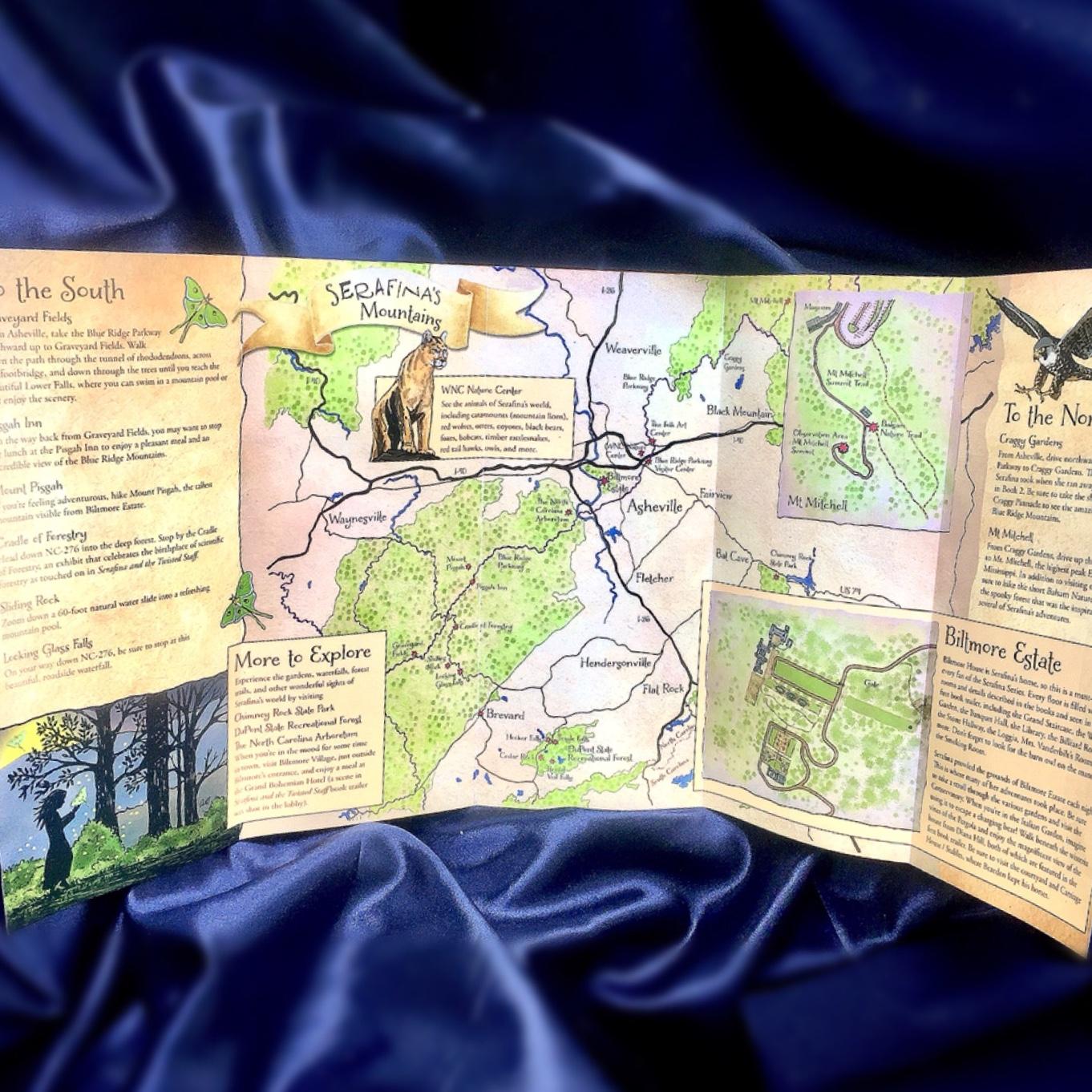 adventure-map-of-serafina-and-willas-mountains-robert-beatty-middle-grade-disney-hyperion