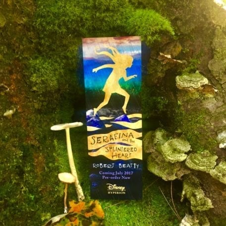Bookmark - Serafina and the Splintered Heart