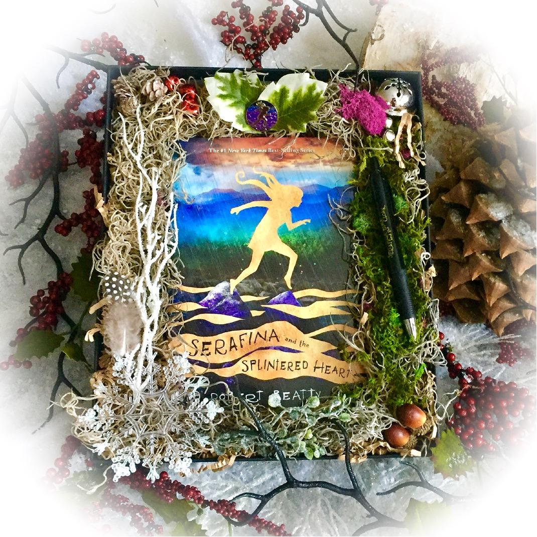 serafina-holiday-gift-box-serafina-and-the-splintered-heart-robert-beatty-disney-hyperion-biltmore-estate-middle-grade-1