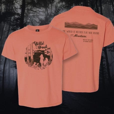 Willa of the Wood tee in enchanting Appalachian Autumn (youth).
